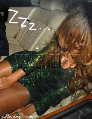Sleeping drunk girls think, that