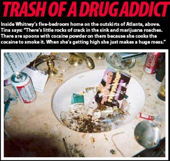 Whitney Houston Drug Den